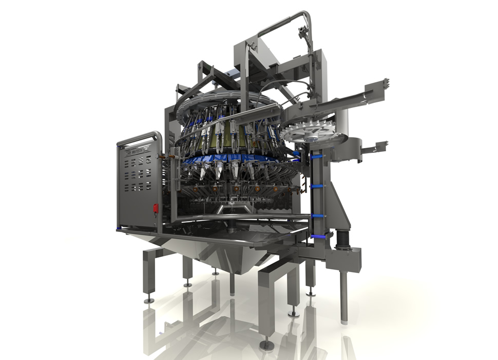 MT-102 | Poultry Eviscerator with Giblets Separation 28 modules